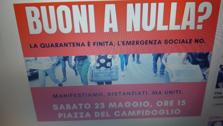 Roma: la rivolta delle cassette vuote